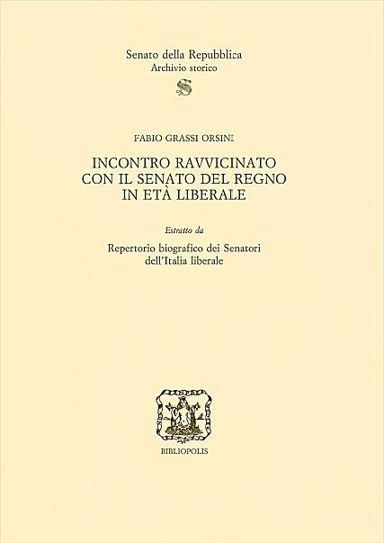 Repertorio biografico dei senatori dell 39 italia liberale for Senato della repubblica indirizzo